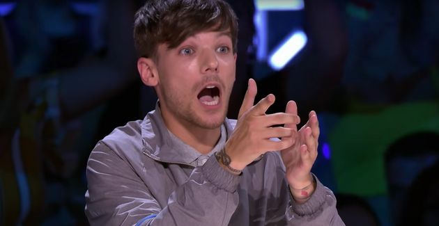 Louis Tomlinson couldn't believe what had just
