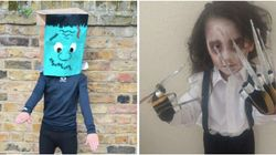 Homemade Halloween Costumes For Kids: 10 Easy Ideas You Can Make At