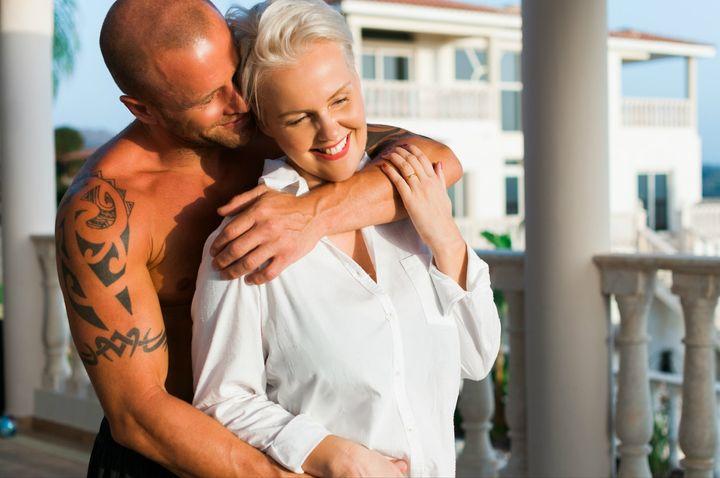 Vanessa Ogden Moss and her husband Ben Ogden