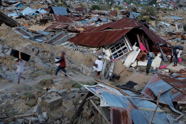 Ινδονησία: Τουλάχιστον 844 οι νεκροί. 191.000 άνθρωποι χρειάζονται ανθρωπιστική