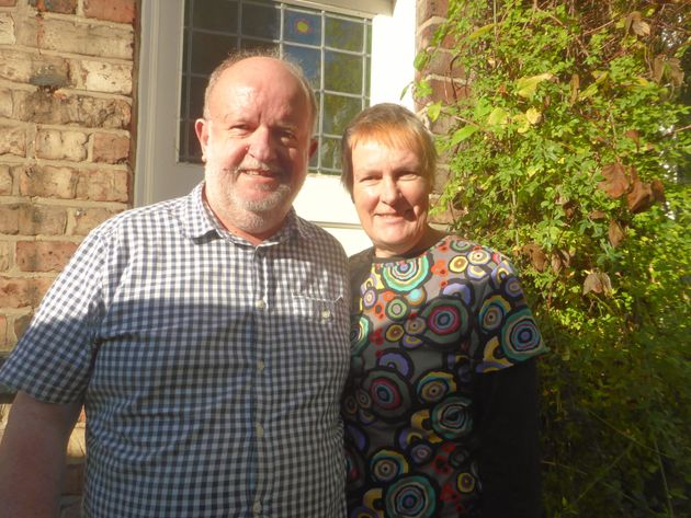 Dizy Martin and her husband Dave, who want to create co-housing in