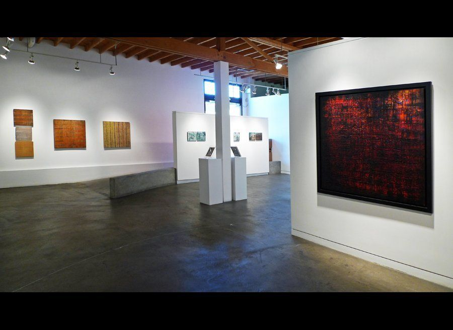 Text & Texture (Installation view), 2011, image courtesy Fresh Paint Art Advisors, Inc.