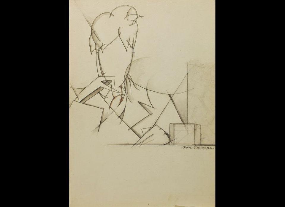 <em>Autoportrait sans visage (Self-Portrait Without a Face)</em>, 1915