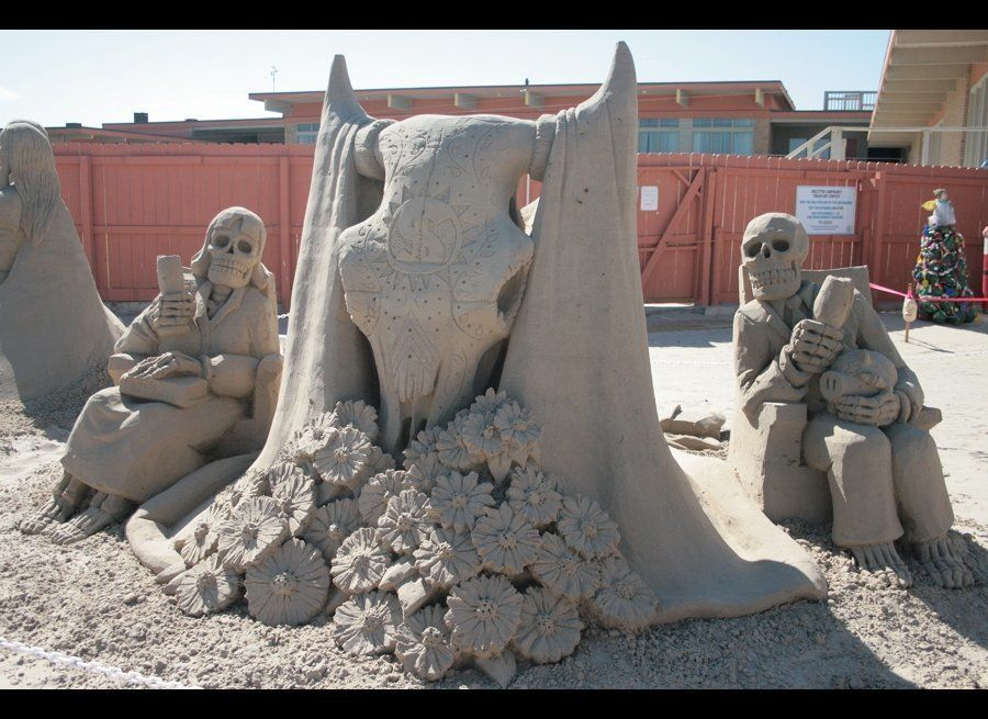 Calavera del Toro; Sand Castle Days, South Padre Island, Texas, October 2011, Gold Medal Winner, just my little bit of suppor