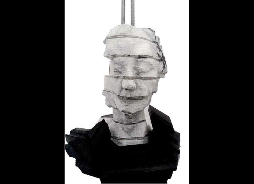 Wim Botha, Untitled (Witness series III), 2011, Encyclopedias, wood, steel, 44 x 31 x 28 cm, Courtesy: the artist and gallery