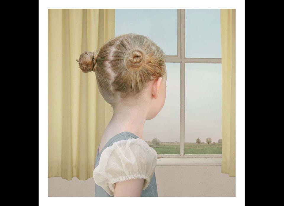 """At the Window"", 2004 Ilfochrome Print Courtesy of Yossi Milo Gallery, New York"