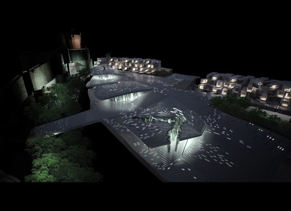 <strong>CLIMATH. Dubrovnik, 2011 Europan Competition Entry, Honorable Mention.</strong> The proposal speculates using plaza