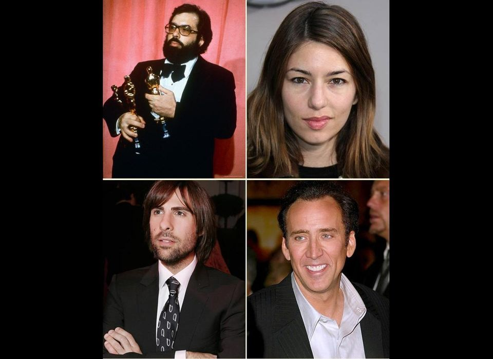 Francis Ford Coppola (father/uncle) / Sofia Coppola (daughter) / Jason Schwartzman (nephew) / Nicolas Cage (nephew)  Academ