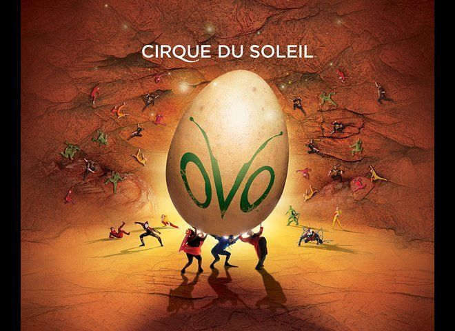 """Ovo,"" Cirque du Soleil, Santa Monica Pier"