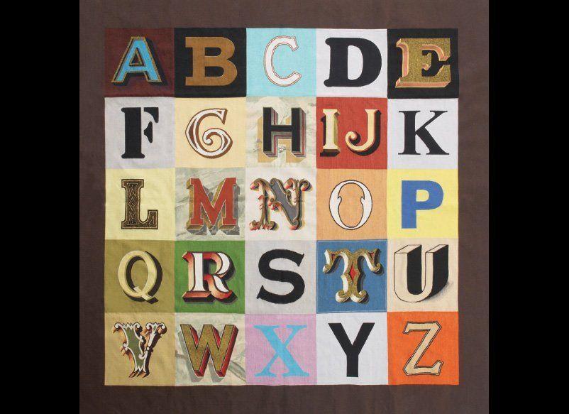 Peter Blake, Alphabet