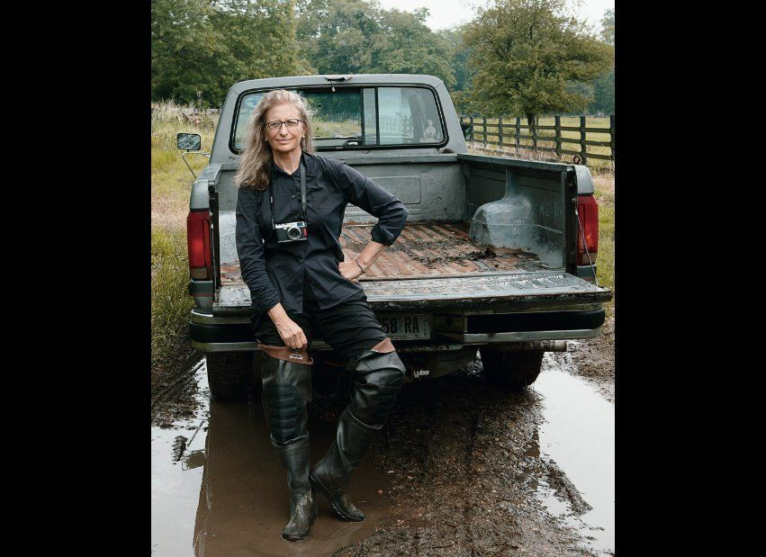 Annie Leibovitz Self Portrait