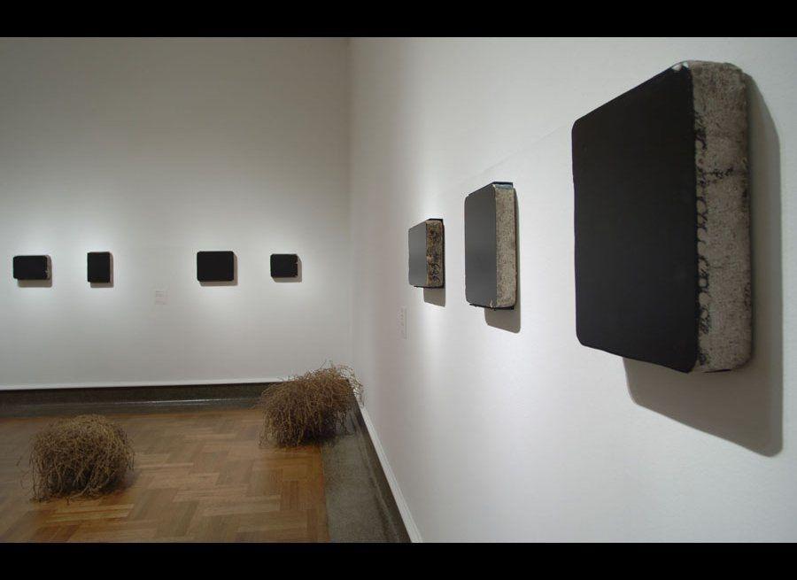 Currents: Latifa Echakhch at Columbus Museum of Art, Ohio, Installation View