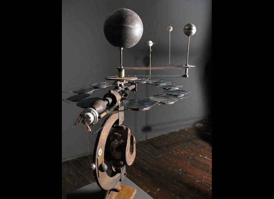 """""""Orrery #4,"""" (2009) by Mark Zirpel, represented by Michael Klein Gallery"""