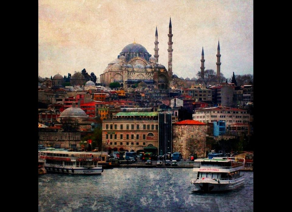 My favorite Goldenhorn view from Galata Bridge