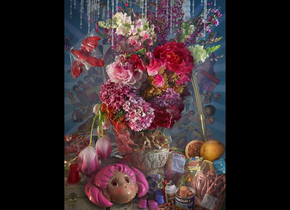 David LaChapelle, Springtime Flower, C-Print, 2008-2011, 60x45.83 in (152.4x116.41cm), Ed. 1/3; Courtesy of: Robilant+Voena