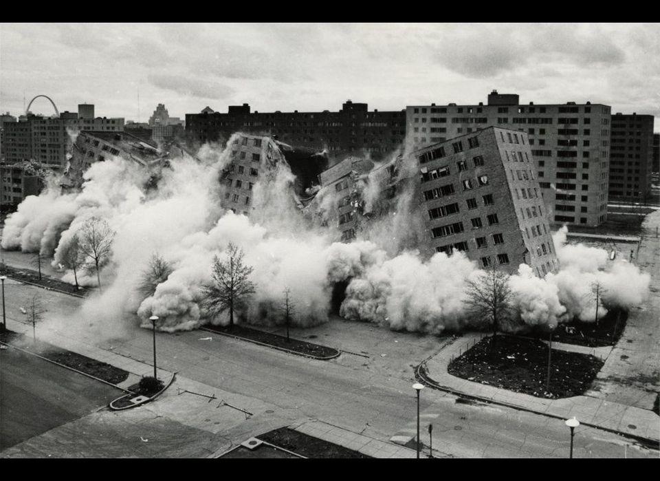 "Minoru Yamasaki: Pruitt-Igoe. See more <a href=""http://openbuildings.com/buildings/pruitt-igoe-profile-42002"" target=""_hplink"
