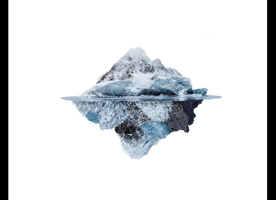 Andrea Galvani             Higgs Ocean #15, 2011             Collage             40.6 x 54.4 inches             103 x 13