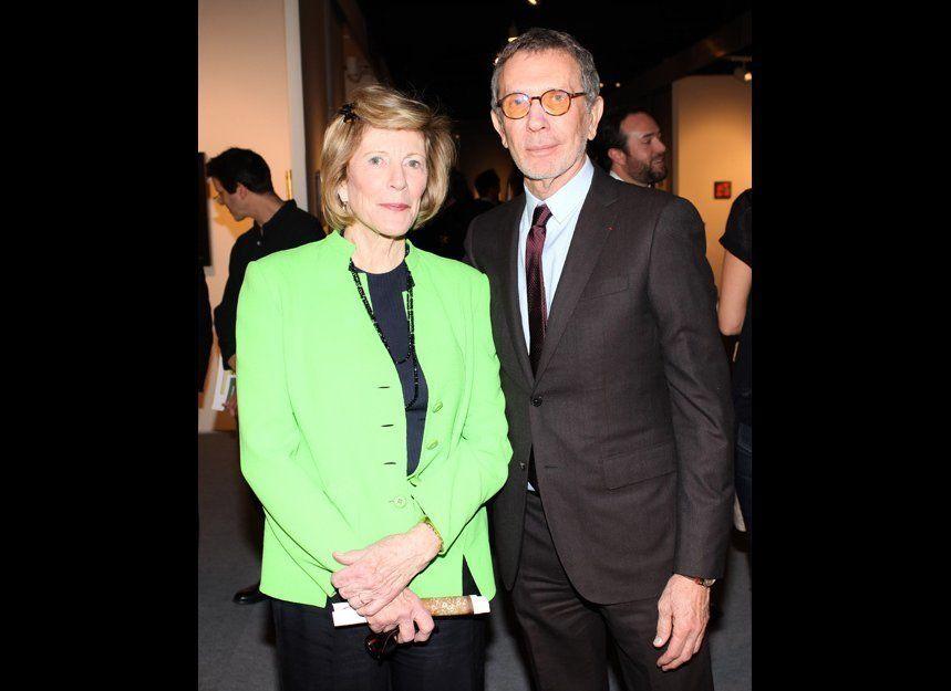 Agnes Gund and Arne Glimcher, Courtesy David X/BFAnyc.com