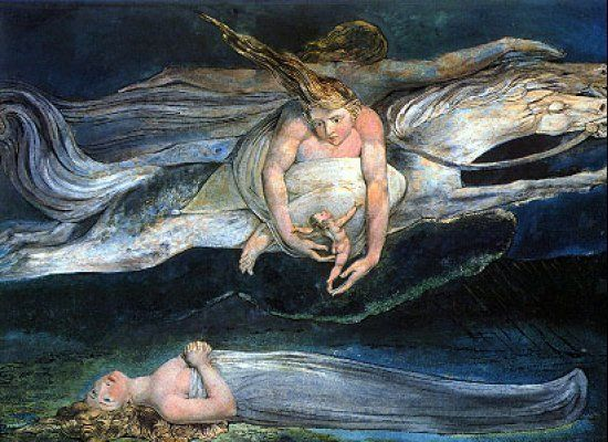 "William Blake, ""Pity."" (1795)