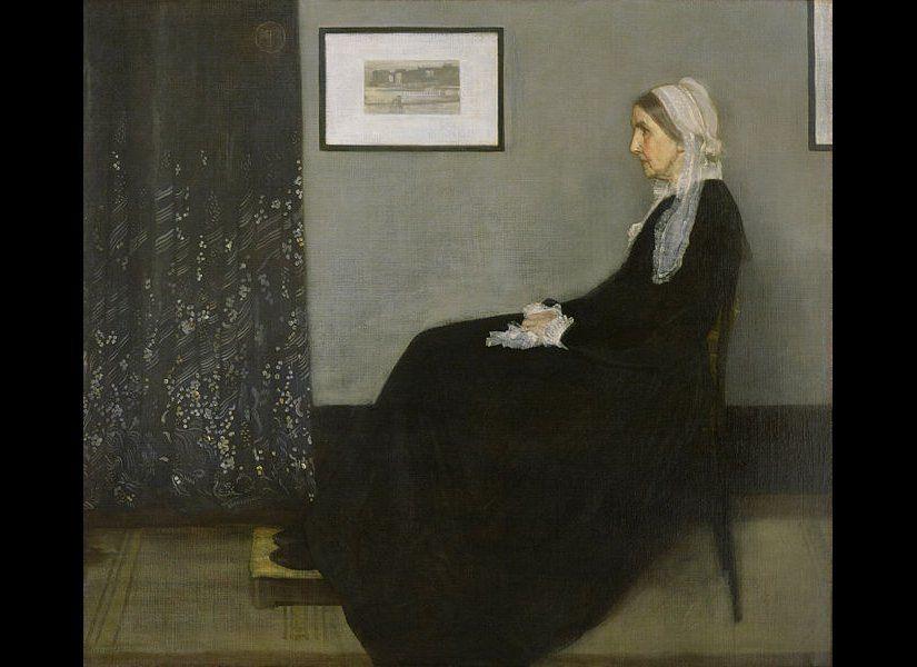 James Whistler Whistler's Mother, 1871 Wikimedia Commons