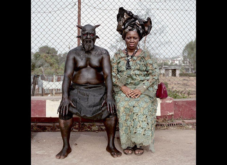 Chris Nkulo and Patience Umeh, Enugu, 2008. Nollywood, Nigeria.