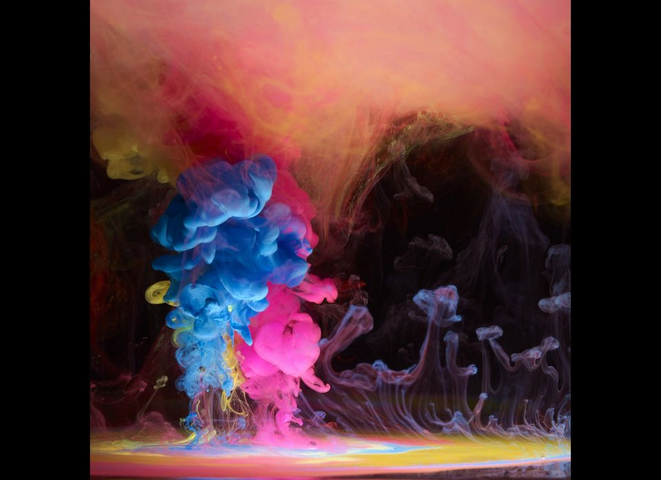 Mark Mawson's Aqueous Electreau water art