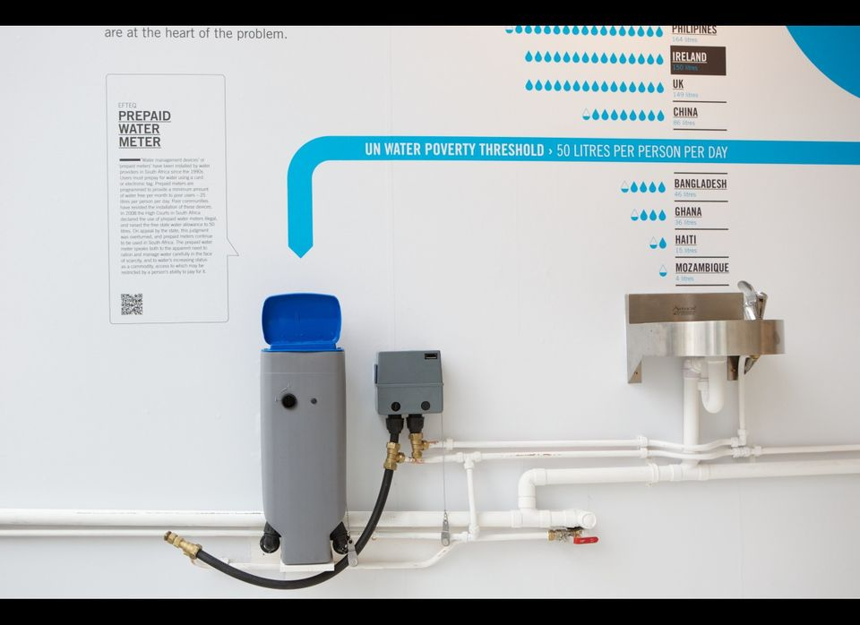 PREPAID WATER METER by Efteq; Photo Credit: Science Gallery, Trinity College Dublin.