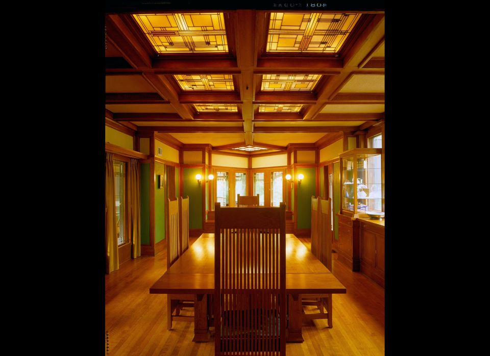 Dining Room, Ward W. Willits House (Highland Park, Illinois), 1902