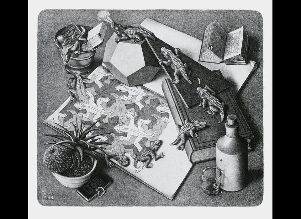 "Photo: Image from <em><a href=""http://www.taschen.com/pages/en/catalogue/art/all/03929/facts.mc_escher.htm"" target=""_hplink"">"