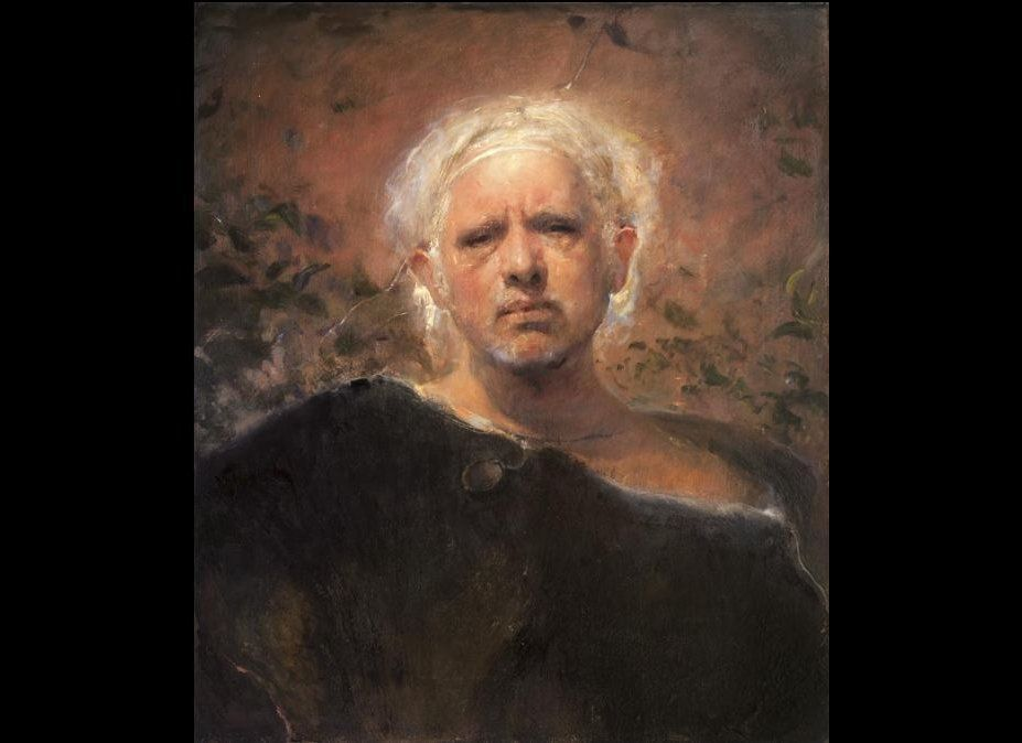 29.5 x 25.5 inches, oil on canvas