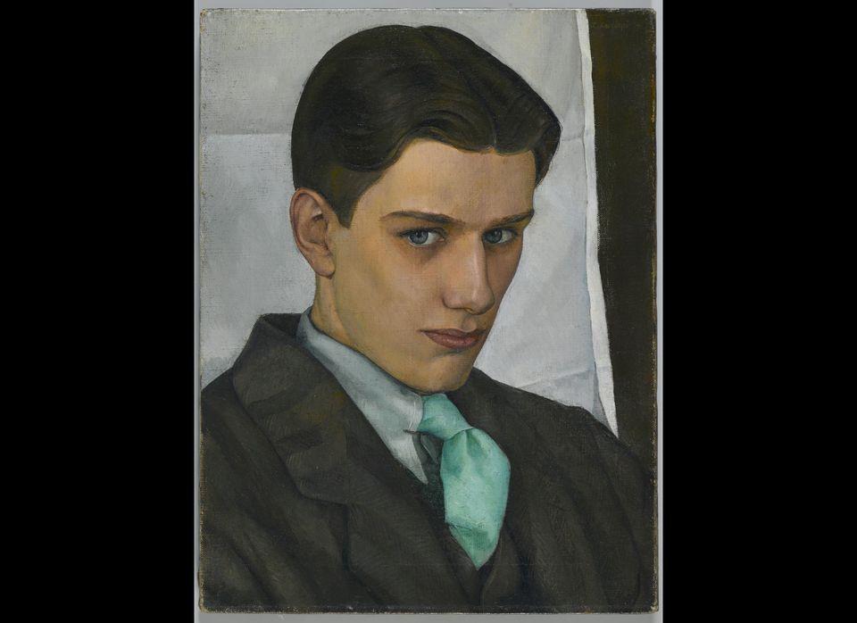 Paul Cadmus, 1928. Luigi Lucioni (American, 1900-1988). Oil on canvas; 40.6 x 30.8 cm (16 x 12 1/8 in.). Brooklyn Museum, Dic