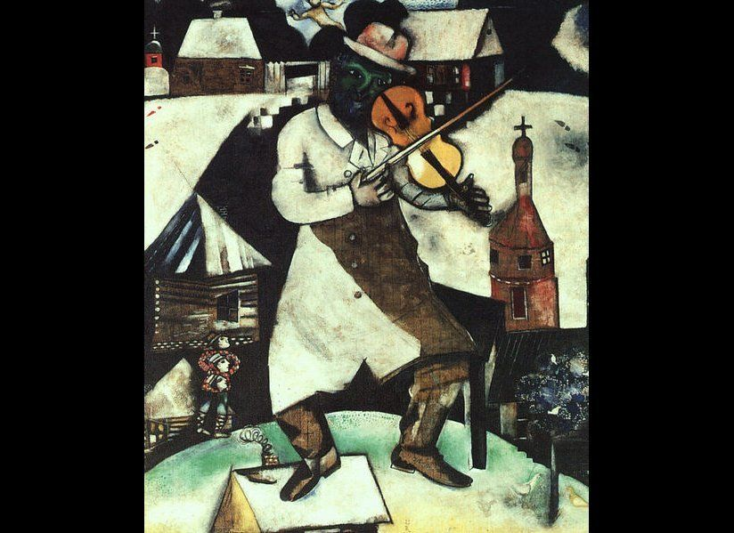 ''The Fiddler'', 1912-1913.  Wikimedia Commons