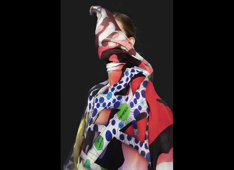 Metahaven, WikiLeaks Scarf, 2011. 