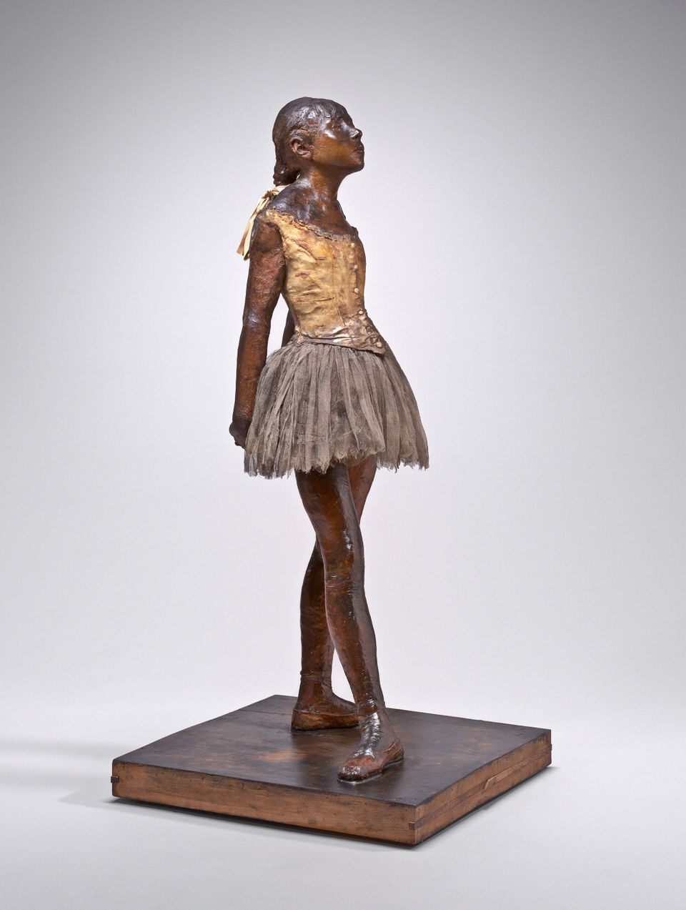 "This handout photo provided by the National Gallery of Art shows Edgar Degas' sculpture ""Little Dancer"". The Kennedy Cent"