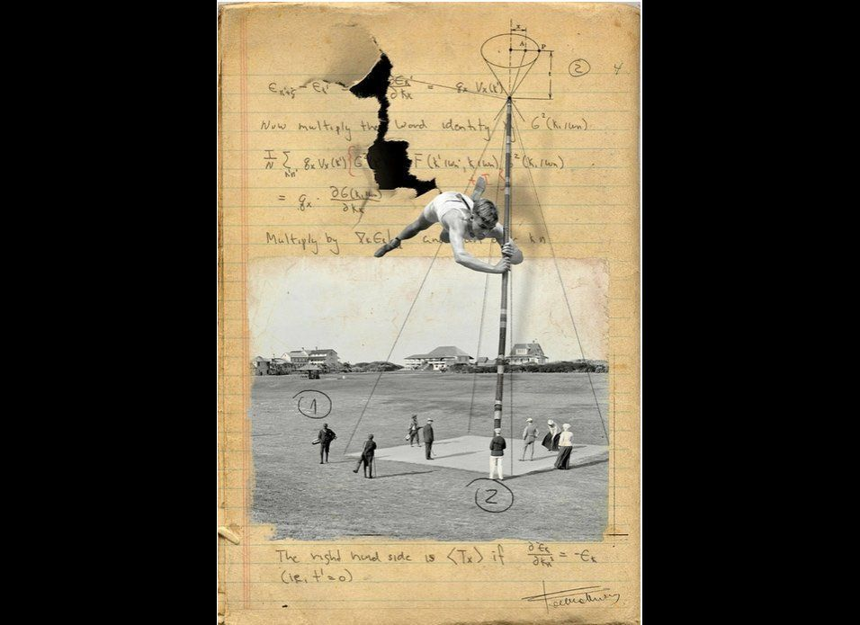 Beta Test by Franz Falckenhaus Assemblage / Collage Courtesy of Saatchi Online