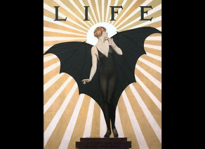 "Adam Scott Crispo: ""This Coles Phillips image, created for the cover of <em>Life</em>, is a perfect representation of what Ph"