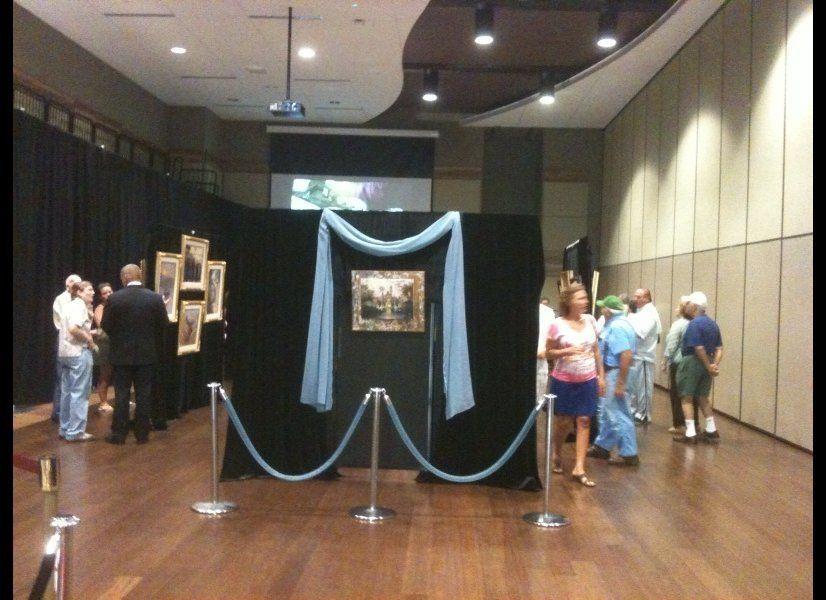 Kinkade originals at Cape May Convention Hall  Image courtesy of Dawn DeMayo