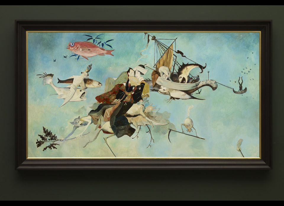 'Floating World' Wolfe von Lenkiewicz: Hieronymous Bosch