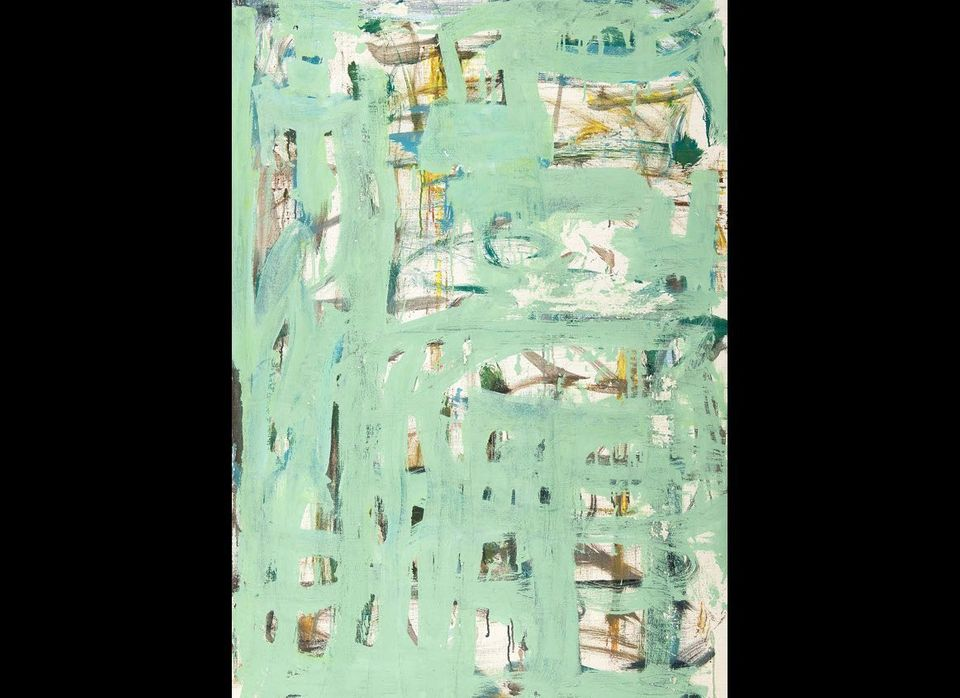 Wintereisse, 2002, by Louise Fishman. Oil on linen, 40 x 28 in. Courtesy of the artist and Cheim & Read, New York. Photograph