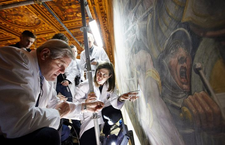 The Battle Over Controversial Method >> Mysterious Da Vinci Painting Battle Of Anghiari Will No Longer Be