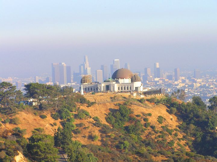 griffith observatory and la...