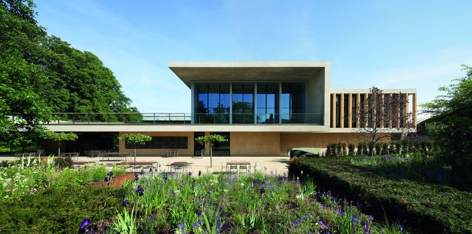 This is the first time that Stanton Williams have been shortlisted for the RIBA Stirling Prize. -       The laboratory is car