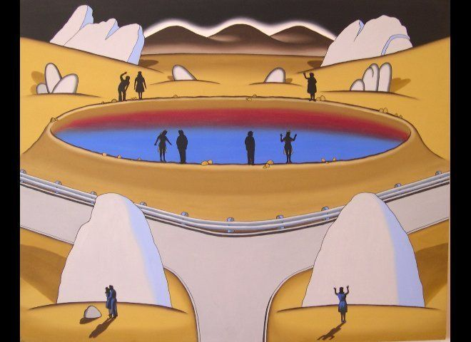 "Roger Brown. Courtesy of <a href=""http://www.zollaliebermangallery.com/"" target=""_hplink"">Zolla/Lieberman Gallery</a>."