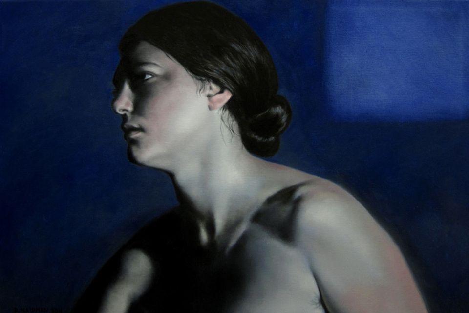 "Daniel Maidman, 2011, oil on canvas, 24""x36"""