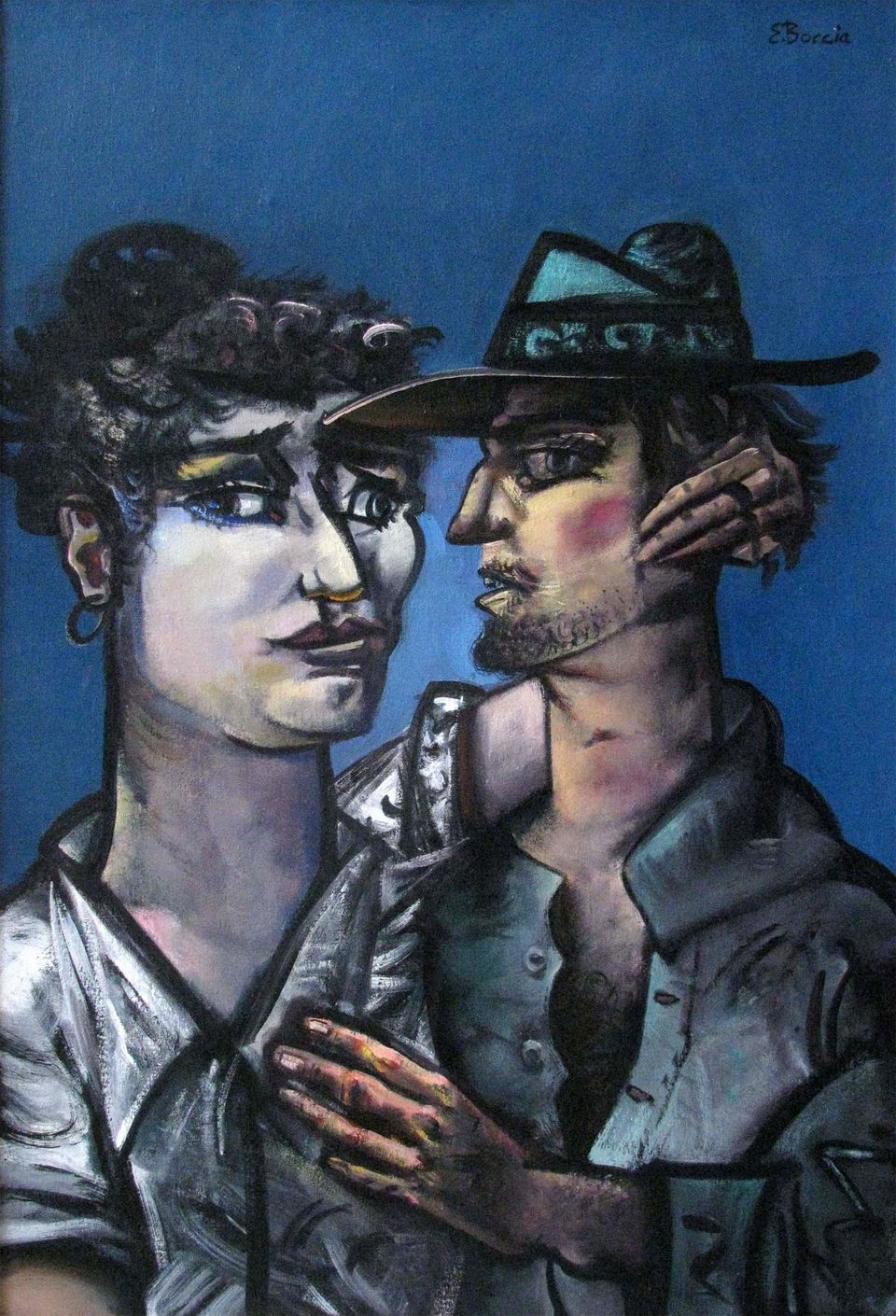 Edward Boccia, The Possibility of Love, 1985, 36 inches by 24 inches, Private Collection.