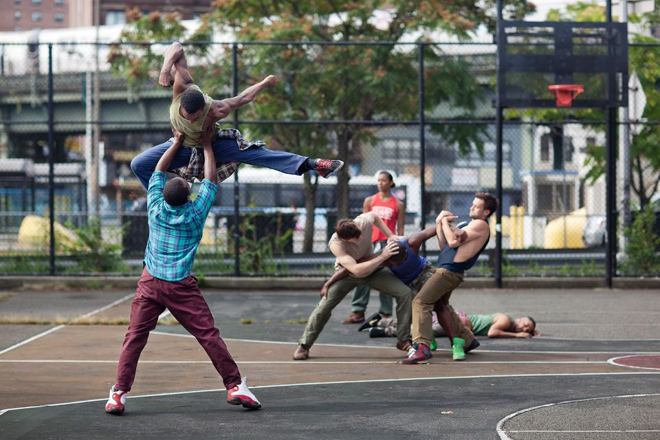 Abraham.in.Motion - Choreographer/dancer Kyle Abraham's company practice Pavement, which will have its world premiere at Harl