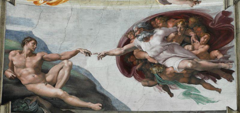 Sistine Chapel 1508-1512 Wikimedia Commons