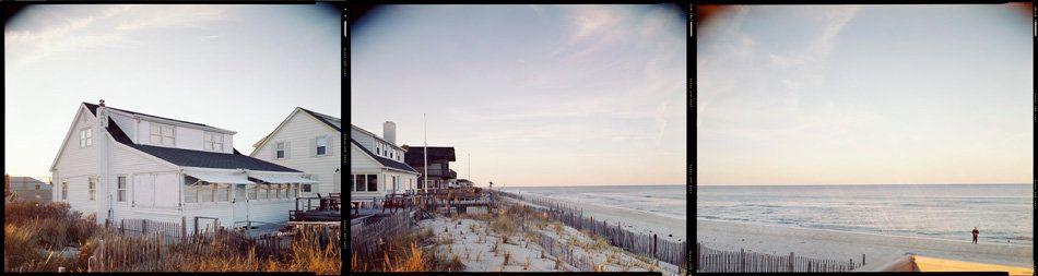 "N 40° 00' 00"" W 74° 03' 32"" Normandy Beach, New Jersey, 1998"