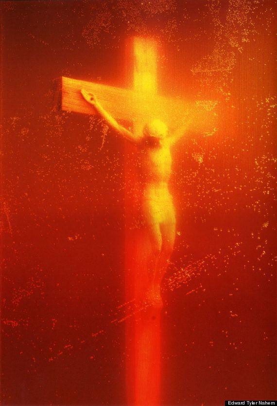"""Piss Christ"" by Andres Serrano Edward Tyler Nahem gallery"
