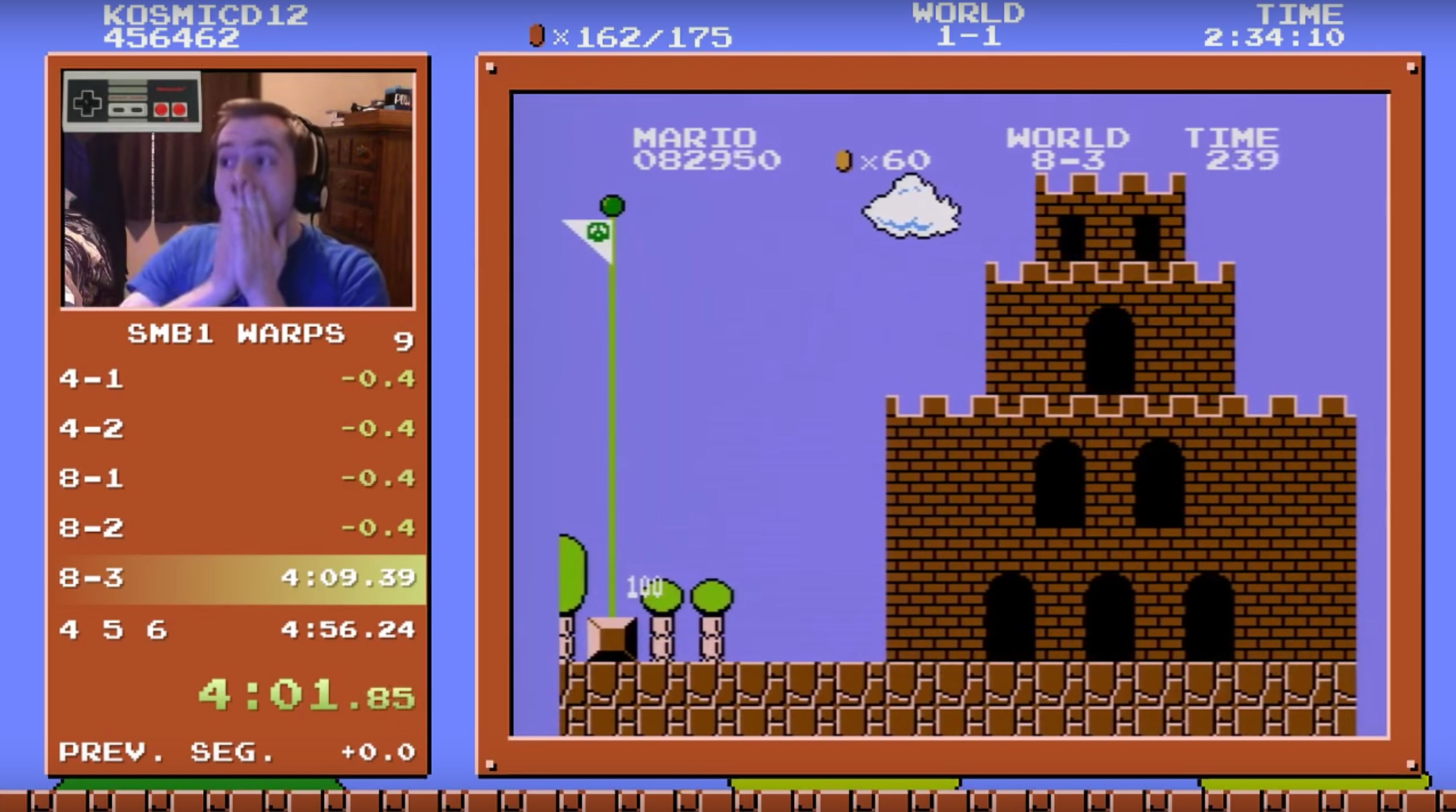 This Gamer Beat 'Super Mario Bros.' In A World Record Time Many Thought